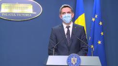 Conferință de presă după Ședința Guvernului României din 24 septembrie 2020