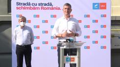 Conferință de presă susținută de copreședinții USR PLUS, Dan Barna și Dacian Cioloș