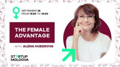 "Online event ""The female advantage with Alena Huberova"""