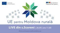 UE pentru Moldova Rurală - LIVE tur din satul Scoreni, raionul Strășeni