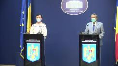 Declarație de presă susținută de Ministrul Afacerilor Interne din România, Ion Marcel Vela, și Secretarul de Stat, chestor-șef de poliție Bogdan Despescu