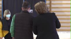 Traian Băsescu își exprimă votul