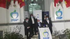 Declarații de presă susținute de Traian Băsescu după închiderea secțiilor de votare
