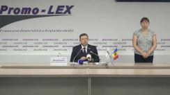 Conferință de presă organizată de Asociația Promo-LEX privind lansarea celui de-al treilea Raport al Misiunii de observare a alegerilor pentru funcția de Președinte al Republicii Moldova din 1 noiembrie 2020