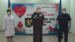 """Evenimentul consacrat Campaniei de donare a sângelui """"Când inima cere, donăm o tonă de putere"""""""