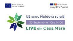 """Evenimentul online """"LIVE din Casa Mare, satul Maramonovca"""""""