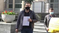 Flashmob organizat de PAS Youth cu privire la prețurile ridicate din Republica Moldova