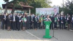 Lansarea în alegerile prezidențiale a candidatului Partidului Liberal Democrat din Moldova, Tudor Deliu