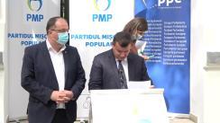 Declarații de presă după ședința Colegiului Național al Partidului Mișcarea Populară