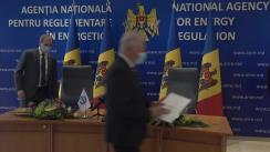 Ceremonia de semnare a Acordului de Colaborare între Agenția Națională pentru Reglementare în Energetică a Republicii Moldova și Universitatea Tehnică a Moldovei