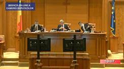 Ședința în plen a Camerei Deputaților României din 6 octombrie 2020