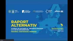 Evenimentul Public Online de prezentare a noului Raport Alternativ: Șase ani de implementare a Acordului de Asociere UE-Moldova