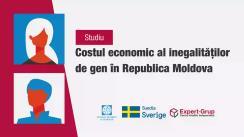 """Prezentarea studiului """"Costul economic al inegalităților de gen în Republica Moldova"""""""
