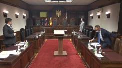 Ședința Curții Constituționale de examinare a sesizării cu privire la organizațiile necomerciale