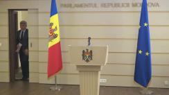 Briefing de presă susținut de Președintele Comisiei securitate națională, apărare și ordine publică, Alexandru Jizdan
