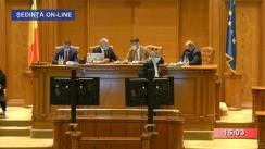 Ședința comună a Camerei Deputaților și Senatului României din 8 octombrie 2020