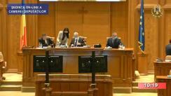 Ședința în plen a Camerei Deputaților României din 13 octombrie 2020