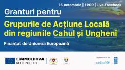 Eveniment de decernare a granturilor pentru Grupurile de acțiune locală din regiunile Cahul și Ungheni