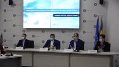 Conferință de presă susținută de Ministrul Mediului, Apelor și Pădurilor, Costel Alexe și Ministrul Fondurilor Europene, Marcel Boloș, cu ocazia semnării contractului de finanțare pentru modernizarea și extinderea Rețelei Naționale de Monitorizare a Calității Aerului