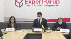 """Conferința de presă organizată de Centrul Analitic Independent """"Expert-Grup"""" cu tema """"Licitație pentru alegători, din contul alegătorilor: între populism, legalitate și fantezii electorale"""""""