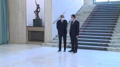 Declarații de presă susținute de Prim-ministrul României, Ludovic Orban, și comisarul european pentru buget și  administrație, Johannes Hahn