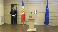 Conferință de presă susținută de Președintele PRO MOLDOVA, Andrian Candu