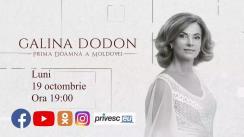 Cine este Galina Dodon? În premieră, un interviu cu Prima Doamnă a Moldovei