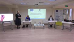 """Lansarea proiectului """"Siguranța și drepturile persoanelor cu dizabilități intelectuale și psihosociale din instituții în perioada pandemiei cu Covid-19"""", finanțat de Uniunea Europeană"""