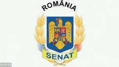 Ședința în plen a Senatului României din 21 octombrie 2020
