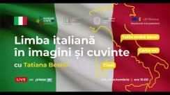 Master-class de Limbă Italiană, susținut de profesoara Tatiana Beșliu