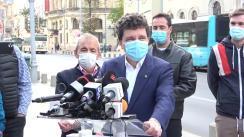 Conferință de presă susținută de primarul ales al Municipiului București, Nicușor Dan