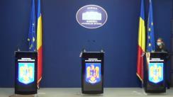 Declarație de presă susținută de Secretarul de Stat, chestor-șef de poliție Bogdan Despescu și purtătorul de cuvânt al DIICOT, procuror Mihaela Porime