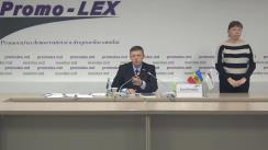 Conferință de presă organizată de Asociația Promo-LEX privind lansarea celui de-al cincilea Raport al Misiunii de observare a alegerilor pentru funcția de Președinte al Republicii Moldova din 1 noiembrie 2020