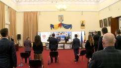 Ceremonia de constituire a Consiliului Local Iași și învestirea în funcția de primar a primarului ales Mihai Chirica