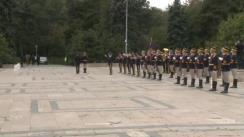 Ceremonia organizată cu prilejul Zilei Armatei României