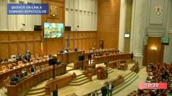 Ședința în plen a Camerei Deputaților României din 27 octombrie 2020