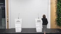 Dezbatere națională Maia Sandu vs. Igor Dodon