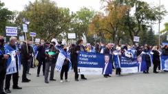 Conferință de presă susținută de Renato Usatîi, candidatul Partidului Nostru la funcția de președinte al Republicii Moldova, de totalizare, la încheierea campaniei electorale pentru primul tur de scrutin al alegerilor prezidențiale din 1 noiembrie