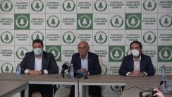Conferință de presă organizată de Partidul Ecologist Român cu participarea președintelui formațiunii, Dănuț Pop, și candidații aflați pe locurile 1 la Senat și Camera Deputaților în circumscripția București – Șerban Nicolae și Liviu Pleșoianu