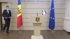 Briefing de presă susținut de deputații din grupul parlamentar, PRO MOLDOVA