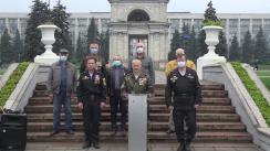 Conferința de presă a veteranilor de război în susținerea lui Andrei Năstase, candidatul Platformei DA