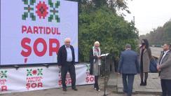 Echipa Partidului ȘOR prezintă proiectul de modernizare a pasajului subteran Dacia-Decebal din sectorul Botanica
