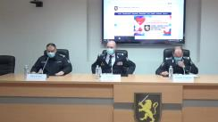Declarație de presă susținută de Inspectoratul General al Poliției privind buna desfășurare a alegerilor prezidențiale din 1 noiembrie 2020