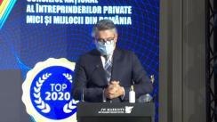 """""""Topul național al firmelor private din România"""", eveniment organizat de Consiliul Național al Întreprinderilor Mici și Mijlocii"""