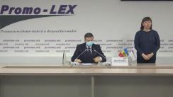 Briefing susținut de Misiunea de Observare Promo-LEX a Alegerilor pentru funcția de Președinte al Republicii Moldova din 1 noiembrie 2020.  Deschiderea secțiilor de votare
