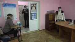 Alegeri Prezidențiale 2020: Exprimarea votului de către candidatul Blocului UNIREA, Dorin Chirtoacă