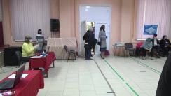 Alegeri Prezidențiale 2020: Exprimarea votului de către Primarul municipiului Chișinău, Ion Ceban