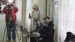 Alegeri Prezidențiale 2020: Exprimarea votului de către candidatul Partidului ȘOR, Violeta Ivanov