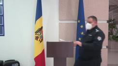 Alegeri Prezidențiale 2020: Briefingul Inspectoratului General al Poliției - ora 13.30