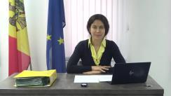 Conferință de presă susținută de reprezentantul cu drept de vot consultativ al concurentului electoral Maia Sandu în Comisia Electorală Centrală, Olesea Stamate